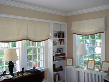 Classic Living Room Shades