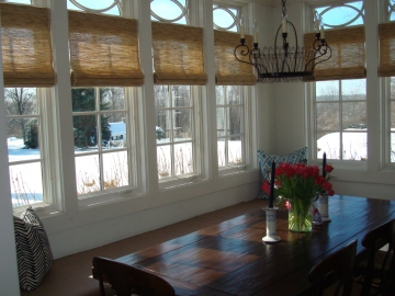 Fully Functional Custom Woven Shades