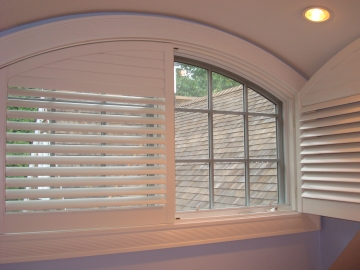 Decorative Custom Arch Shutters